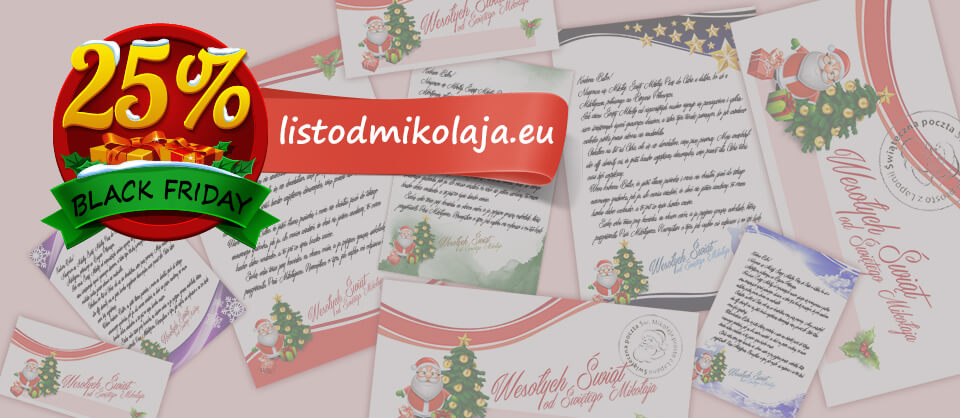 Black Friday - List od Mikołaja