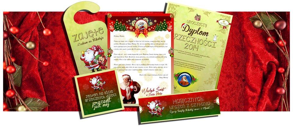 List od Mikołaja - wzory listów, listy dla dzieci i dorosłych