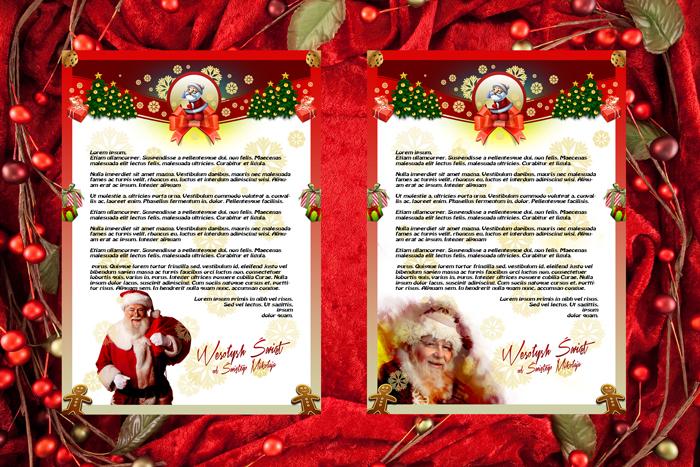 Papeterie do listu od Świętego Mikołaja 6 i 7