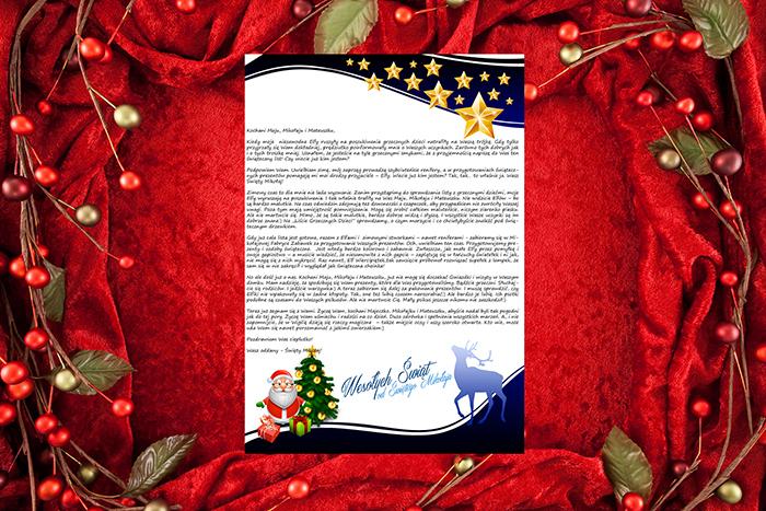 Papeterie do listu od Świętego Mikołaja 5